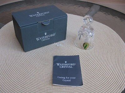 """Waterford Crystal Lismore 3"""" Bell, Original Box, Signed"""