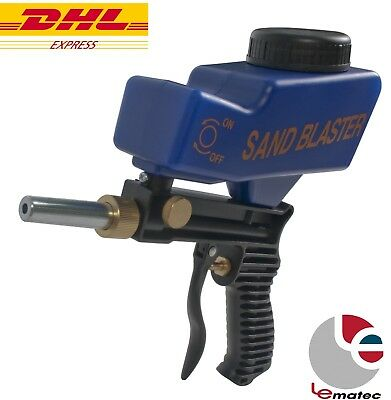 LEMATEC Sandblaster W/ Tip Spray Gun DHL SHIP Sodablasting Gun Air Power Tools