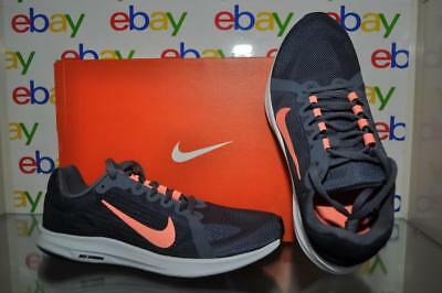 3af94575c9f39 Nike Women s Downshifter 8 Running Shoes 908994 005 Gray Orange NIB See  Sizes