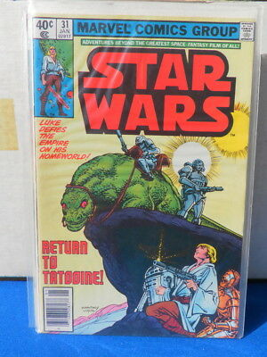 Star Wars 31 VF from January 1980
