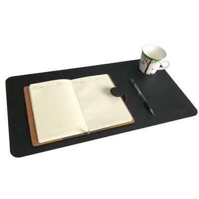 "24x12"" Desk Pad Protector Artificial Leather Desk Mat Blotters Organizer"