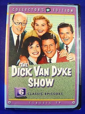 New DICK VAN DYKE SHOW 6 Classic Episodes DVD Mary Tyler Moore FREE SHIPPING!