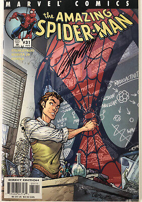 Amazing Spiderman #472 Signed J.s.campbell, Nm