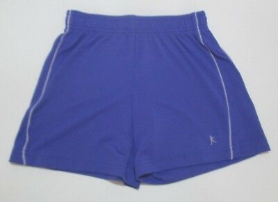 Girls Danskin Now Purple Dance Shorts Small 6 6X