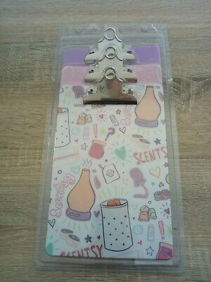 Scentsy Clipboards Brand New