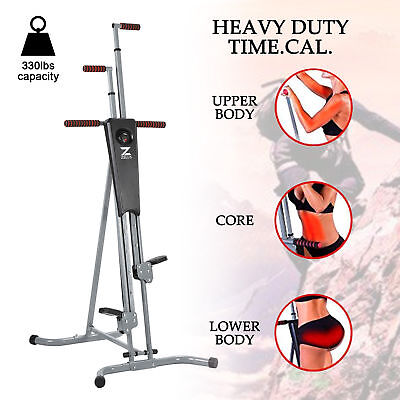 Machine d'escalade verticale Grimpeur steppers vertical Fitness Gym Appareil