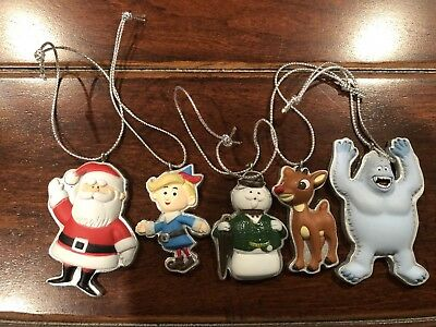 5 New Rudolph The Red Nosed Reindeer Misfit Toys Mini Ornaments
