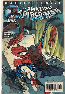Amazing Spiderman #476 Signed J.s.campbell, Nm