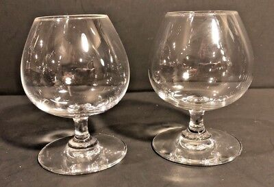 2 BRANDY Glass / Glasses~PERFECTION by BACCARAT CRYSTAL  ~ Made in France SIGNED