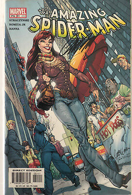 Amazing Spiderman #492 Signed J.s.campbell, Nm