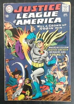 Justice League of America #55 DC Comics 1st Gldn Age Robin! GD/VG 3.0! 20% OFF!