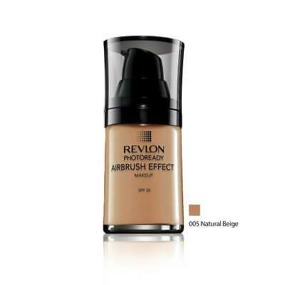 Revlon Photoready Airbrush Effect Makeup SPF20 005 Natural Beige 30ml