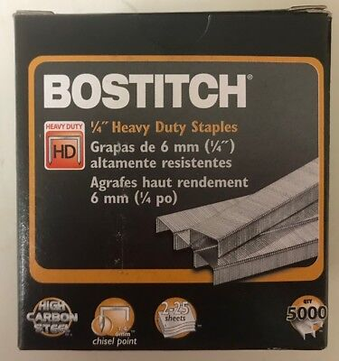 "Stanley-Bostitch 1/4"" Heavy Duty Staples (SB351/4 - 1M)"