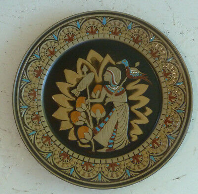 Denbyware Egyptian Collection Collector's Plate King's Fisherman Denby Pottery