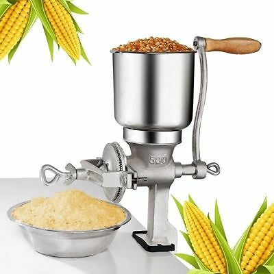 Home Manual Hand Iron Grinder Oats Corn All Kinds of Grains Mill Tool Crank Cast