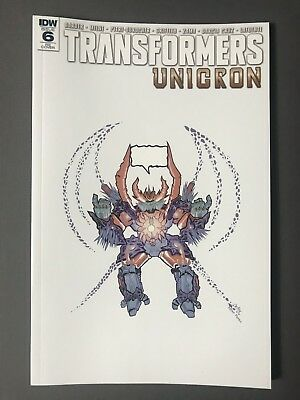 TRANSFORMERS UNICRON 6  Retailer Exclusive JPG McFly Cover Art  B