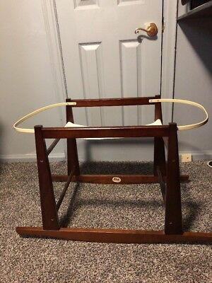 Jolly Jumper Deluxe Rocking Basket Stand Gentle Rocking Motion Soothe To Sleep