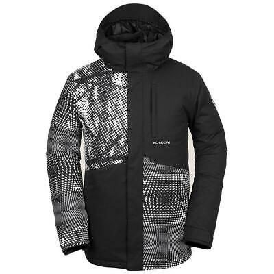 Volcom 17 Forty Insulated Jacket 2019 in Black/White