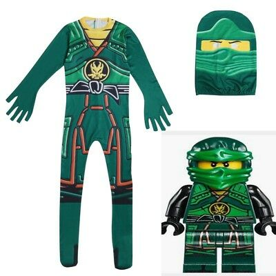 Ninjago Cosplay Jumpsuits Costumes Halloween Christmas Fancy Party Body suit Gir