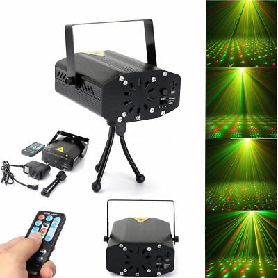 LED Projector Laser Light Disco Party Home Show Birthday Wedding Remote Control