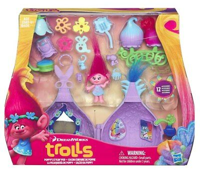 NEW Trolls Poppy's Stylin' Pod by Hasbro from Purple Turtle Toys