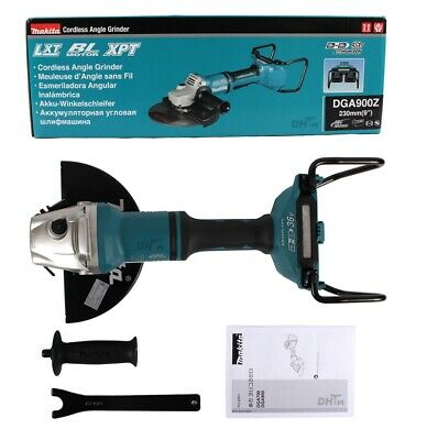 Makita DGA900Z 18Vx2 230mm 9inch Cordless Brushless Angle Grinder / Body only