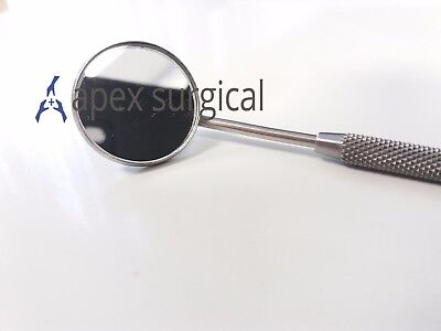 Pro DENTAL MOUTH INSPECTION MIRROR + HANDLE Dentist Dentistry Tool Instrument