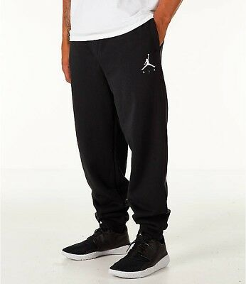 1d2e32a8556 NIKE JORDAN JUMPMAN Retro Sweatpants Joggers AA5591 010 Size Medium ...