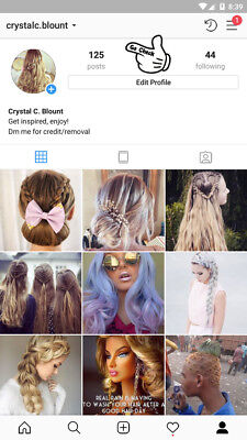 Instagram Account 🔥 HairCuts 🔥 +1K Real & Active With Posts