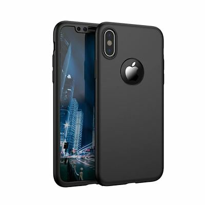 For Apple iPhone XS Max XR Hybrid 360 Slim Ultra Thin Heavy Duty Shockproof Case