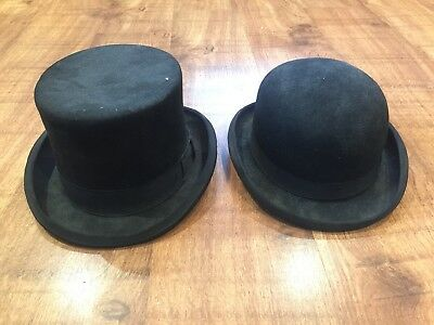 Top Hat & Bowler Hat Hand Made 100% Wool