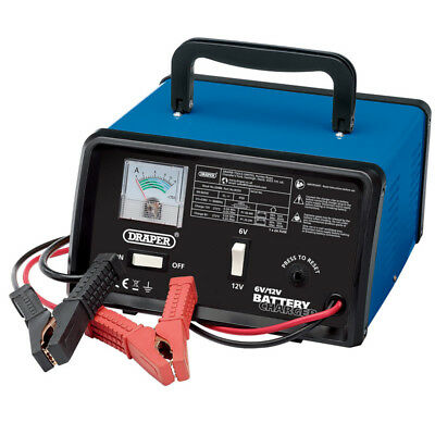 Draper Tools 4.2A 6v/12v Battery Charger Product no: 20486