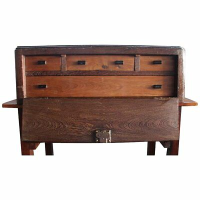 18th/19th Century Fall-Front Cabinet, Antique Table Cabinet, Portuguese