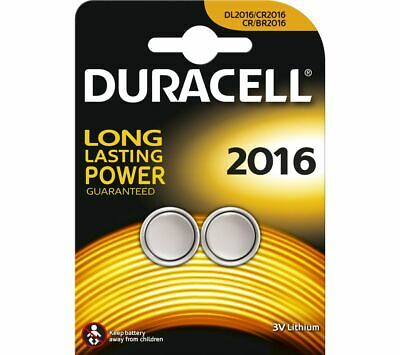 DURACELL 2016 DL2016/CR2016 Lithium Batteries - Pack of 2 - Currys