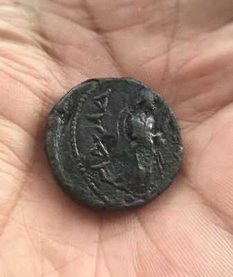 Indian Kushan Empire: Kanishka 1. Circa AD 127-158 AE Tetradrachm 15.4gm