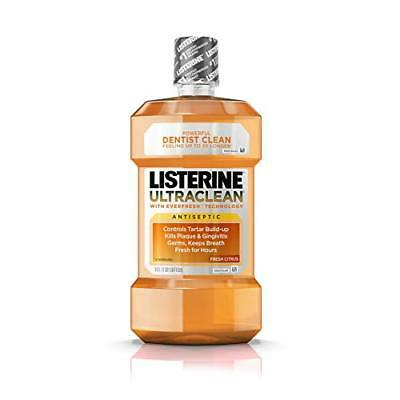Listerine Ultraclean Oral Care Antiseptic Mouthwash With Everfresh Technology...
