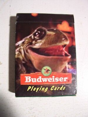 Budweiser Beer Frogs Playing Cards