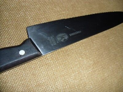 H. Forschner. Victorinox 40023 5.2030.25 Wood Handle Chef Knife Stainless.