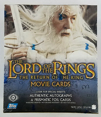 Topps LOTR Lord Of The Rings Return Of The King Hobby Box (B)