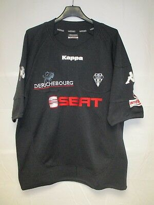 Maillot rugby C.A BRIVE KAPPA shirt noir SEAT collection XL
