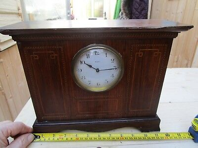 Antique/vintage French Inlaid Mantle Clock Working