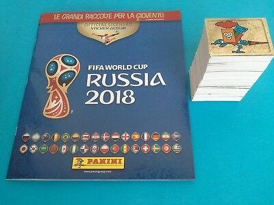 PANINI World Cup RUSSIA 2018 COMPLETE Loose set 682 STICKERS & ALBUM