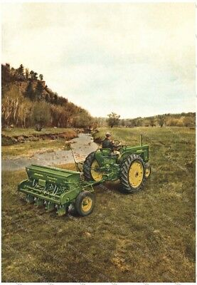 John Deere Tractor 1955 Advertising - Poster (A3) - NEW
