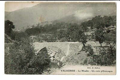 CPA-Carte postale-FRANCE- Valgorge - Le Moulin coin pittoresque(S3415)