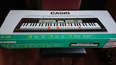 Casio Leuchttasten Keyboard LK 135