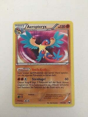 Pokémon Karte Aeropteryx Secret rare 110/108 (Near mint)