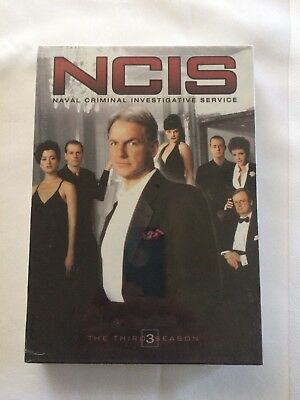 NCIS The Complete Third Season DVD 6 Disc Set 2007 Brand New and Sealed