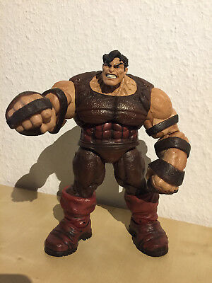 Rare Juggernaut Actionfigur (Variante ohne Maske) Marvel Select Diamond Select