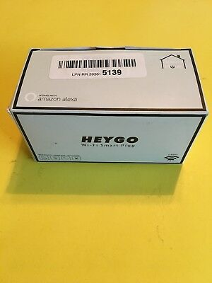 Heygo White Wifi Smart Plug / Outlet (2 pack) ~NEW~