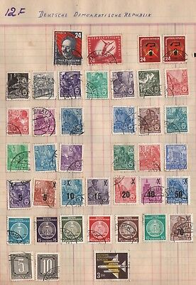 Germany Lot Of Old  Stamps #12F